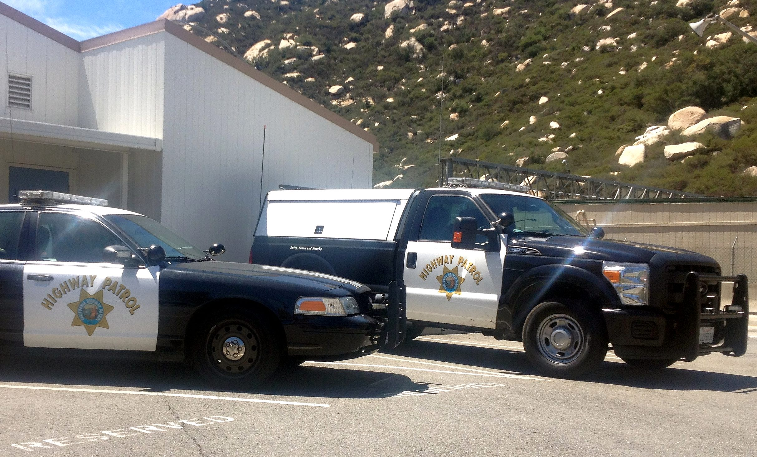 California Highway Patrol Commercial Vehicle Enforcement